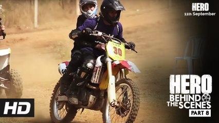 Hero | Behind The Scenes - Part 8 | Sooraj & Athiya's Training for HERO