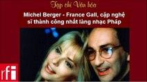 Tạp chí văn hóa RFI 2015.03.21 - Michel Berger - France Gall, cặp nghệ sĩ thành công nhất làng nhạc Pháp
