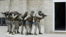 Double fails lors d'un entrainement militaire de soldats américains et anglais