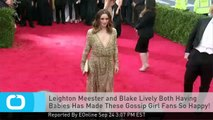 Leighton Meester and Blake Lively Both Having Babies Has Made These Gossip Girl Fans So Happy!