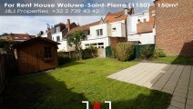 For Rent - House - Woluwe-Saint-Pierre (1150) - 150m²