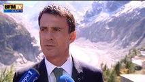 """Valls: """"Le réchauffement climatique est une réalité qui pèse sur la nature"""""""