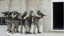 Entrainement raté de soldats américains et anglais