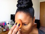 Bridal Makeup Tutorial Pt. 2// Finishing Contouring and Eye Makeup//GlamourbyBritt