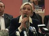 """Cantonales: """"Marine le Pen est candidate dans les 1.900 cantons!"""", raille Copé"""