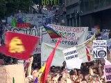 Visite du pape aux JMJ: les pro-laïcité face aux pèlerins catholiques à Madrid
