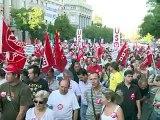 Dette: manifestations en Italie et Espagne, Madrid s'inquiète de la Grèce