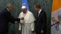 Le pape François aux Nations Unies