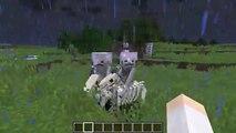 Minecraft 1.9 Snapshot 15w38a- Skeleton Horses, Skeletal Riders!