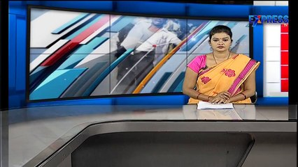 Rescue operations on swing to found girl missing in drainage at Vizag - Express TV