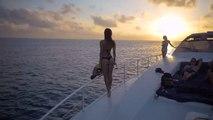 Ce couple a passé les plus belles vacances imaginables : soleil, mer, sport extreme...