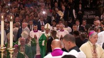 La messe du pape François au Madison Square Garden à New York, le 25 septembre 2015