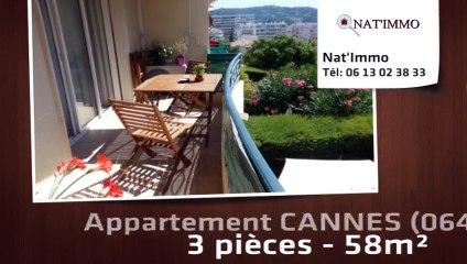 CANNES - Appartement  3 Pièce(s) à vendre