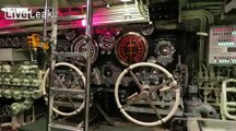Look inside a submarine that survived being blasted with depth charges for 16 hrs.