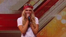 Soul singer Louisa Johnson covers Who's Loving You _ Auditions Week 1 _ The X Factor UK 2015