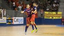 Highlights Catgas Energia Santa Coloma - Barça Lassa (futsal) (6-7)