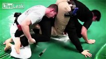 MMA FIGHTER takes on TWO COPS