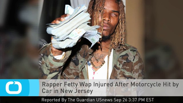 Rapper Fetty Wap Injured After Motorcycle Hit by Car in New Jersey