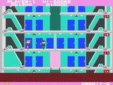 Taitos Elevator Action arcade gameplay