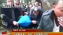 LiveLeak.com - Farmer with blade throws acid bottles at police after shooting one in head