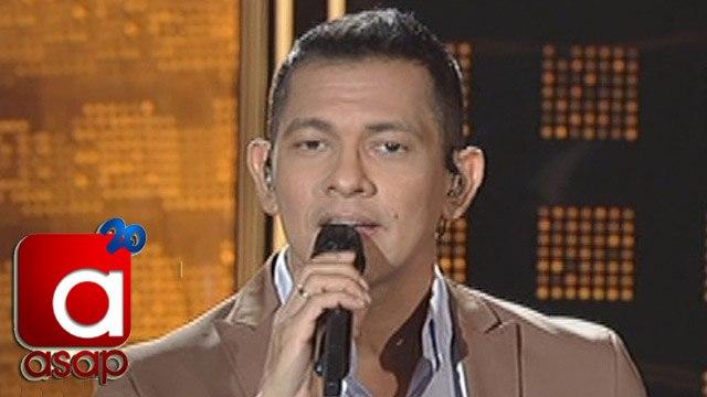 """ASAP: Gary V sings """"Wag Ka Nang Umiyak"""" for FPJ's Ang Probinsyano"""
