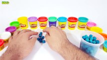 Play Doh Numbers | Learn Count Numbers 1 to 10 With PlayDough Dippin Dots