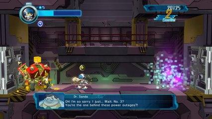 Extrait de gameplay de Mighty No.9