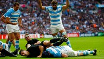 RWC Re: LIVE Rugby World Cup: Argentina try stuns New Zealand