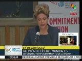 Dilma Rousseff afirma que Brasil avanza en DDHH a favor de la mujer