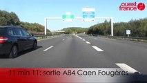Nous avons testé la nouvelle vitesse (70 et 90 km/h) sur la rocade de Rennes