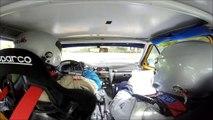 Rallye pays de Montbéliard 2015 ES2 Jerome ROUSSEL/Florian DUTHU AX GTI N1