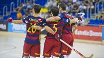 Highlights Hoquei: FCB Lassa-Recam Làser Caldes (8-4)