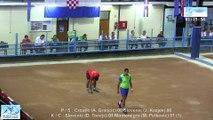 Finale simple et combiné, Sport Boules, Mondial Senirors, Rijeka 2015