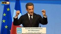 """Sarkozy appelle à """"tourner la page de 5 ans de François Hollande""""  [27.09.2015]"""