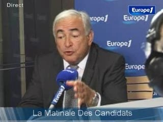 DSK : Europe 1 25/04/07