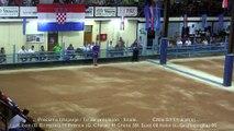Finale tir de précision, Sport Boules, Mondial Seniors, Rijeka 2015