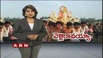 Gujarat Junagadh money thrown on ganesh visarjan (28-09-2015)