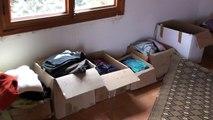 La mise en catégories d'âge et de genre des vêtements donnés en Anjou et arrivés à Ourika Tadamoune le 22.9.15