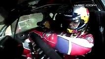 L'accident de Sebastien Loeb finit en tonneaux