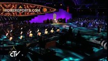 Aretha Franklin chante pour le pape François
