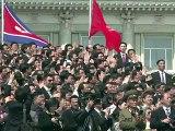 Corée du Nord: Kim Jong-Un évoque l'arme nucléaire lors de son premier discours public