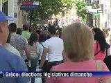Elections législatives en Grèce: ouverture des bureaux de vote