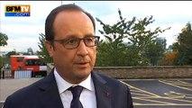 """Hollande sur l'accueil des réfugiés: """"L'Europe a pris ses responsabilités"""""""