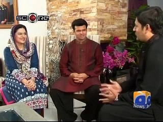 watch Aleem Dar appreciates his wife for her contribution in his life and career