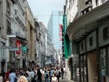 Belgique, Bruxelles, rue Neuve