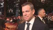 The Martian Premiere: One small step for Matt Damon