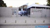 Lyon : les Toques Blanches rejouent «La sortie des usines Lumière»