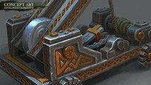 Total War : Warhammer - Dwarfen Artillery