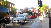 Buses at Brentwood High Street, Essex 28th September 2015