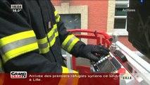 Les pompiers du Nord en colère